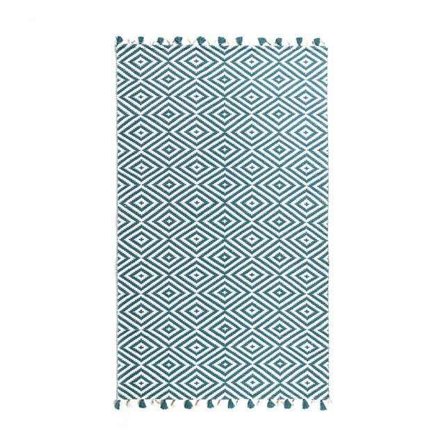Cost Plus World Market Dory Geo Indoor-Outdoor Rug 5' x 8'