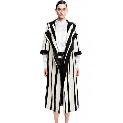 Tria Jaquard Coat