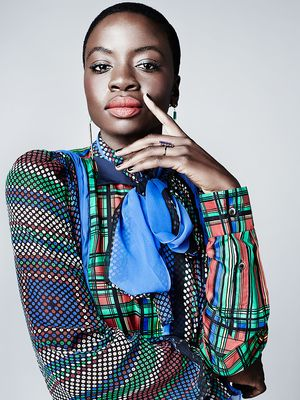 Danai Gurira Finds Elegance in the Season's Bright Color Palette