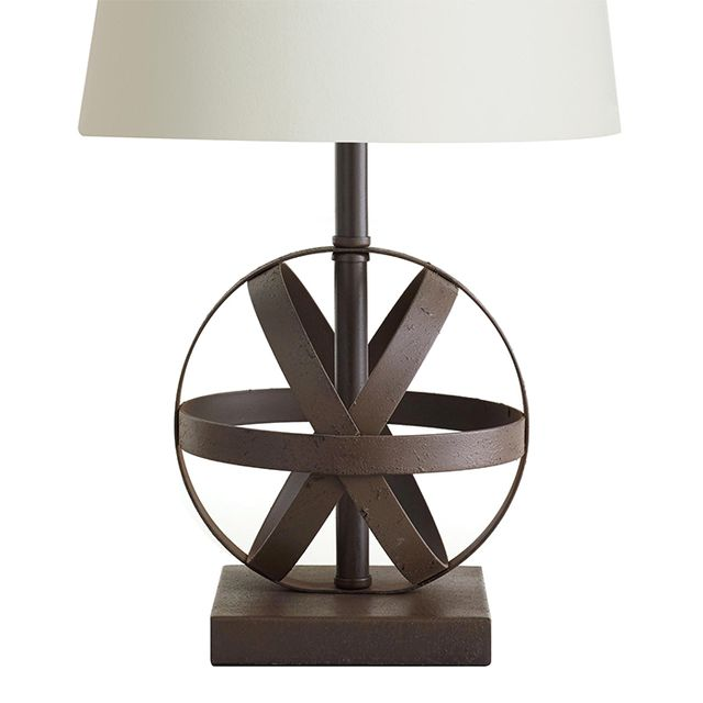 Cost Plus World Market Metal Orb Accent Lamp Base