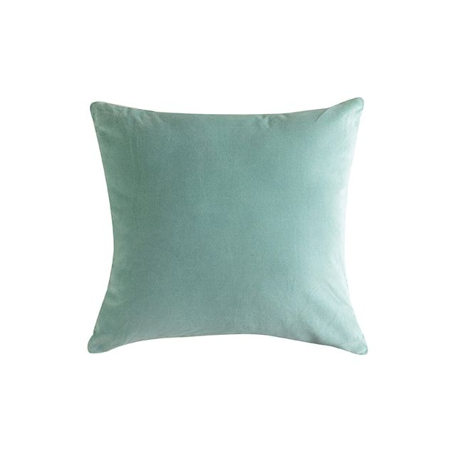 Cost Plus World Market Blue Surf Velvet Throw Pillow