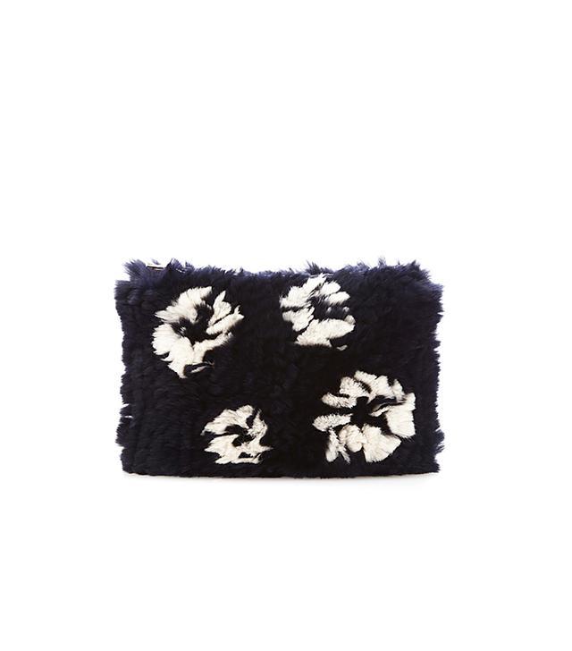 Thakoon Rabbit-Fur Clutch