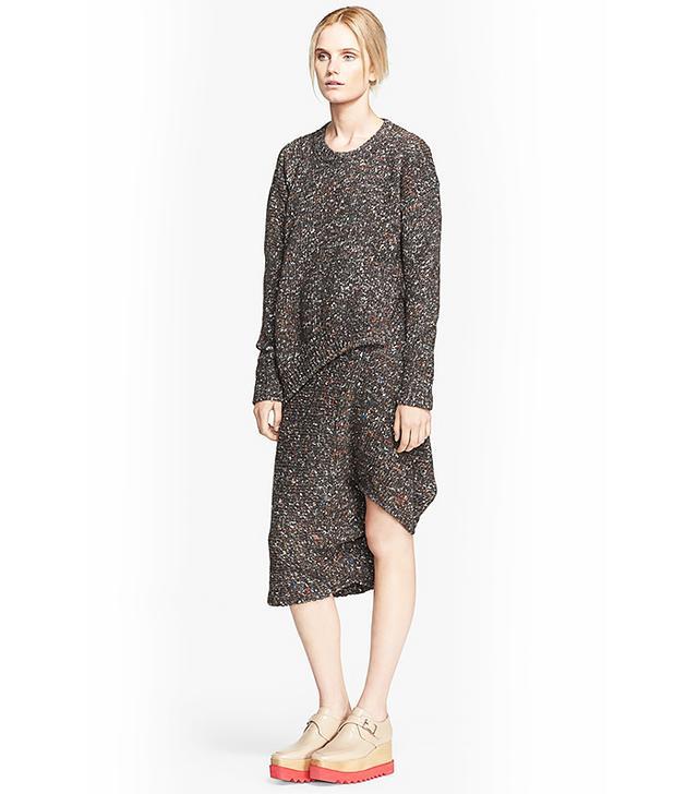 Stella McCartney Melange Chunky Knit Sweater