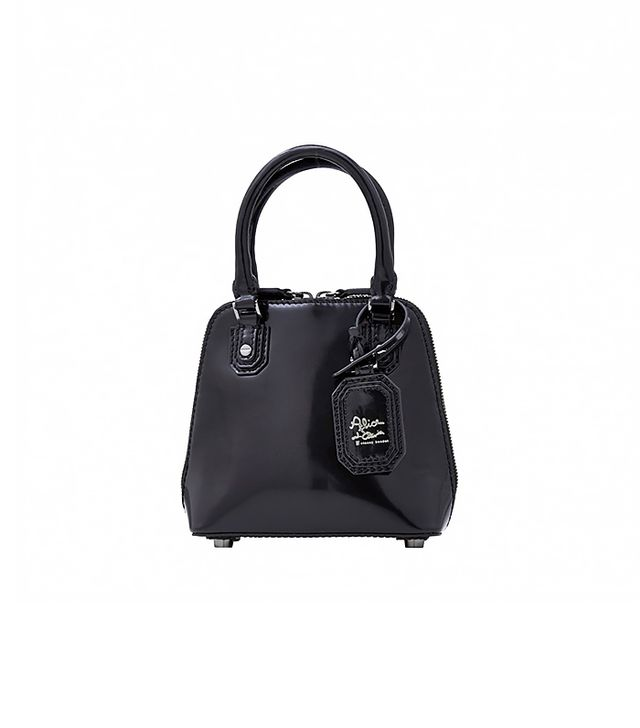 Alice and Olivia Mini Jackie Box Leather Bag