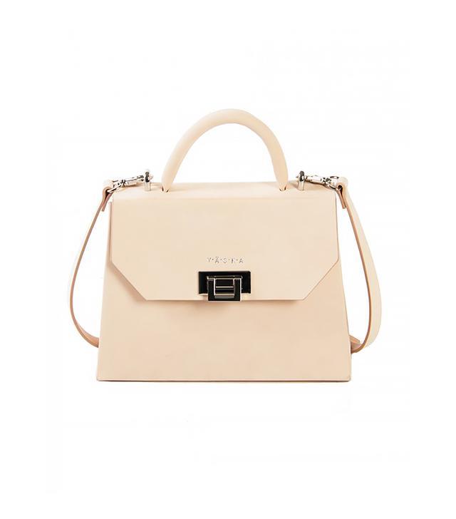 Vaska Cream Nubuck Venla Mini Handbag