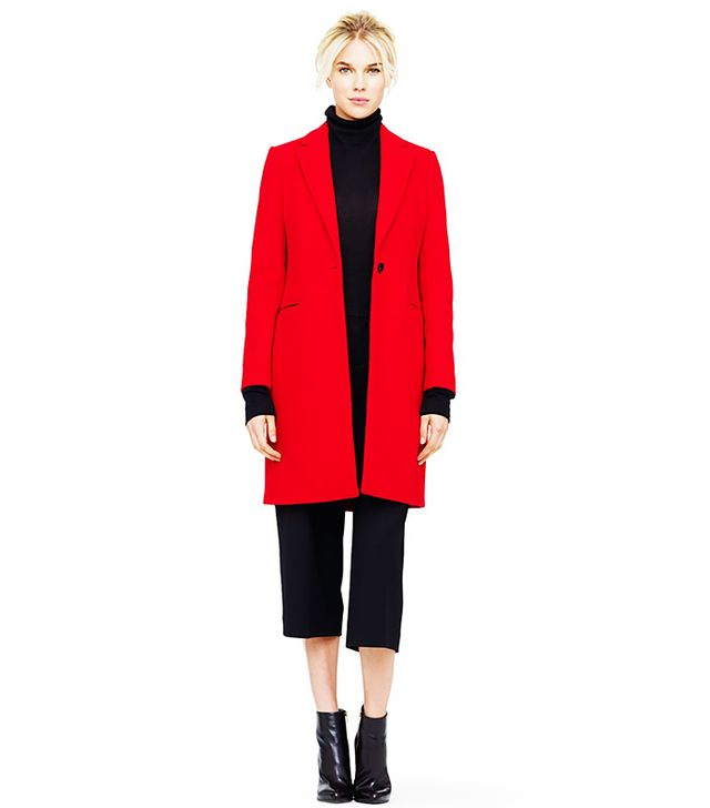 Club Monaco Selina Double-Face Wool Coat