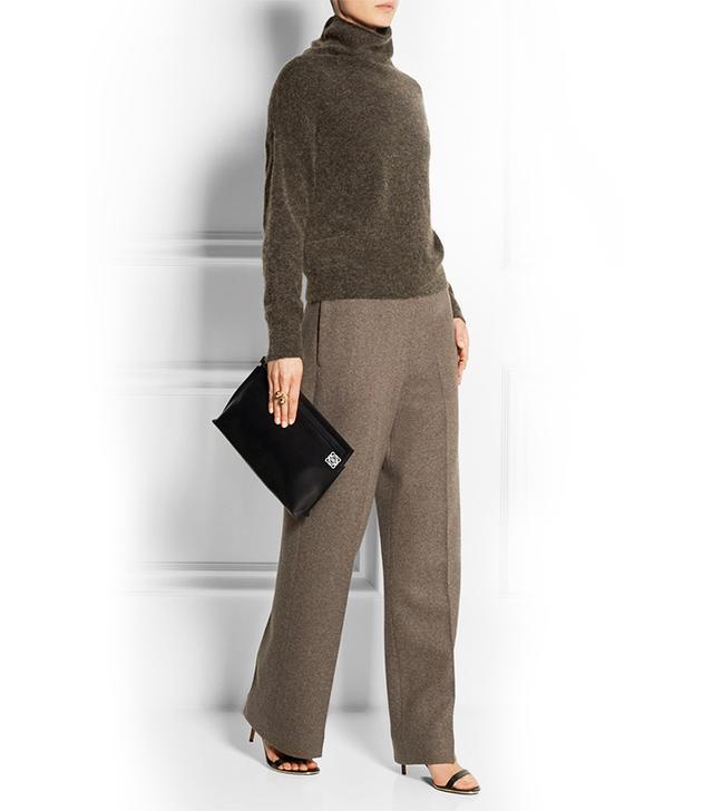 Haider Ackermann Wool-Blend Wide-Leg Pants