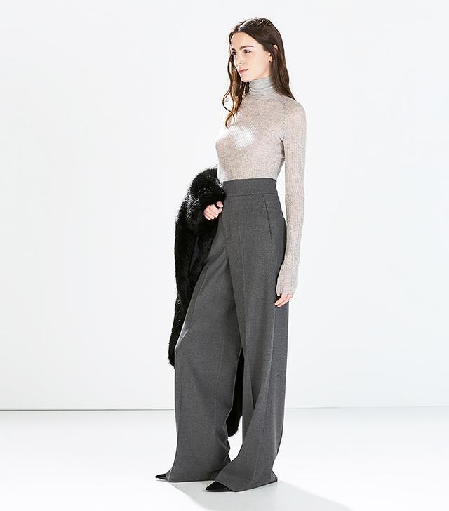 Zara Studio High Waist Trousers