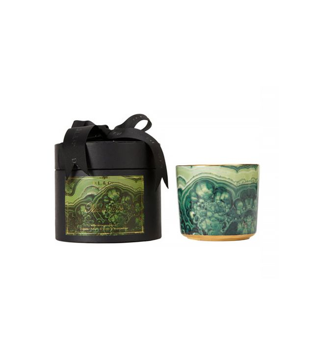 Barneys New York Malachite Scented Candle