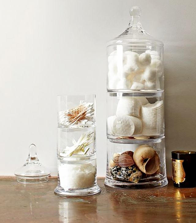 West Elm Stacked Apothecary Jars