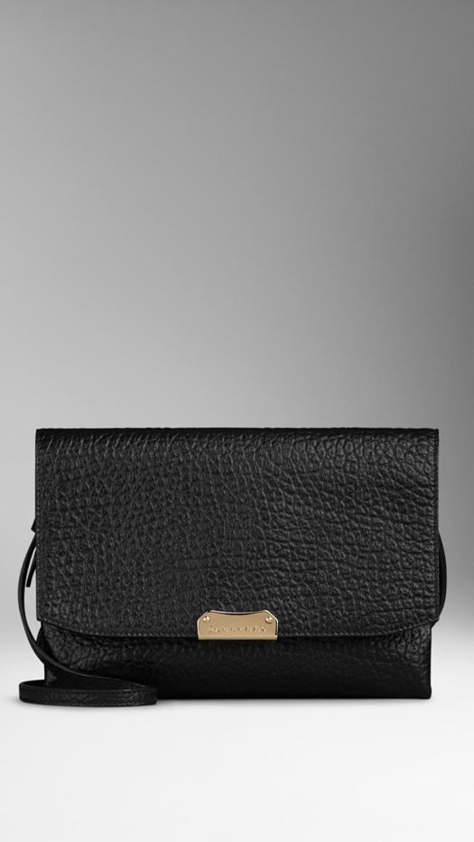 Burberry Prorsum Large Signature Grain Leather Crossbody Bag
