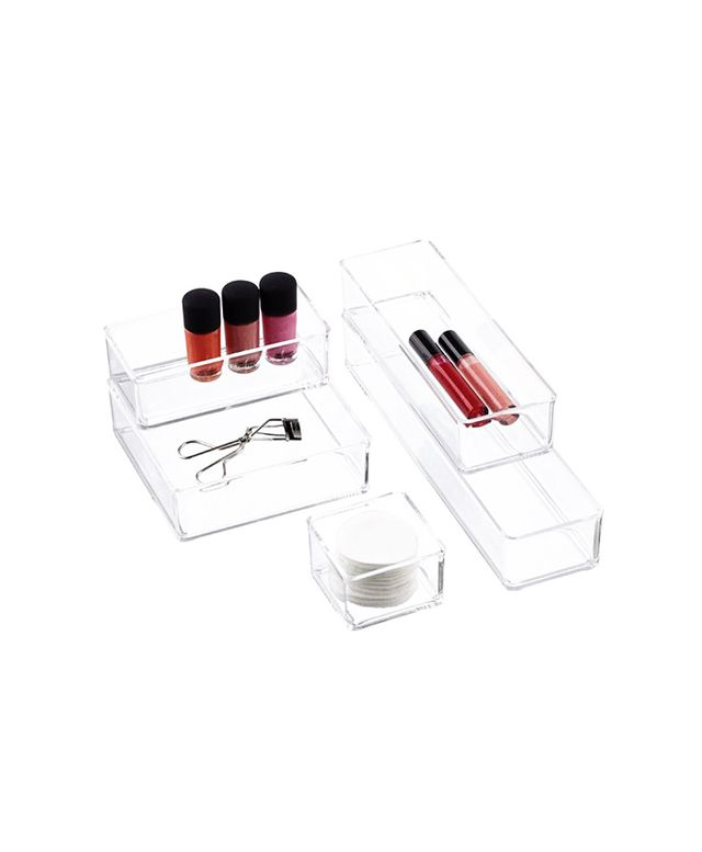 The Container Store Acrylic Stacking Drawer Organizers