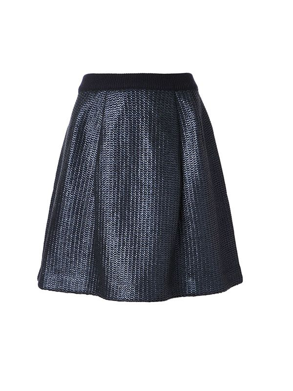 Tory Burch Knitted A-Line Skirt