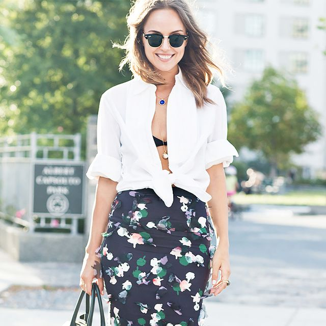 12 Ways to Reinvent Your Old Button-Up Blouses