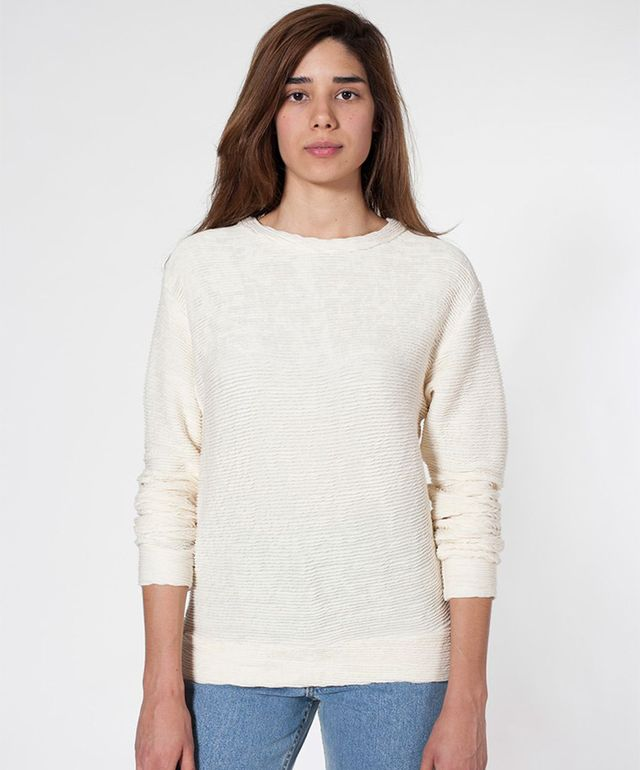 American Apparel Unisex Drop-Shoulder Sweater