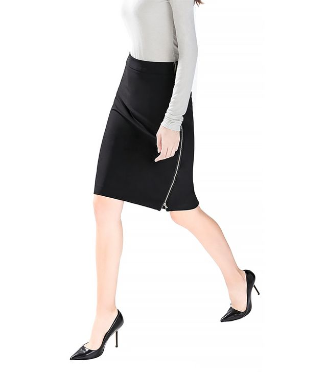 Zara Pencil Skirt with Side Zips