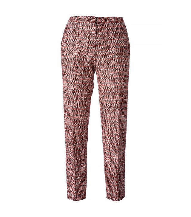 MSGM Tweed Trousers
