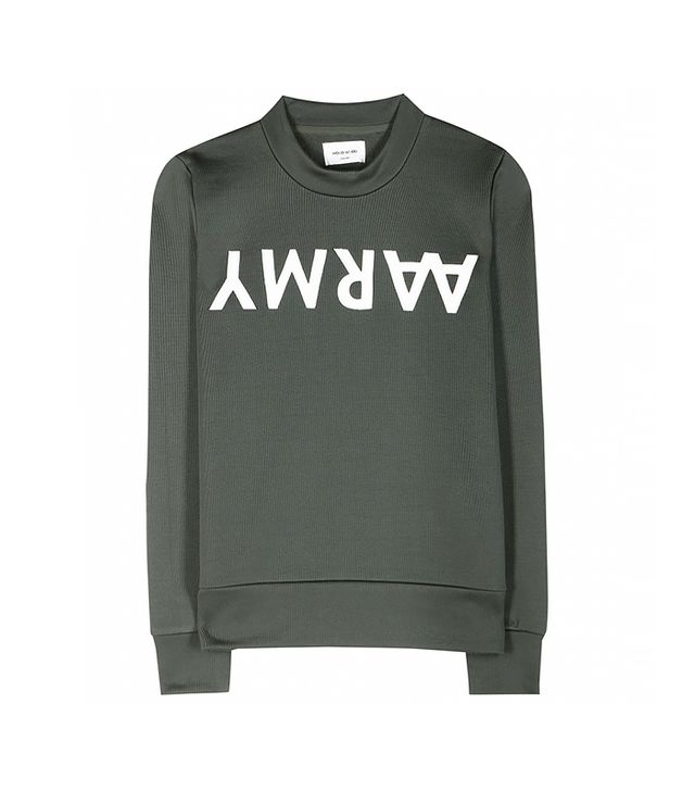 Wood Wood Maya Cotton Blend Sweatshirt