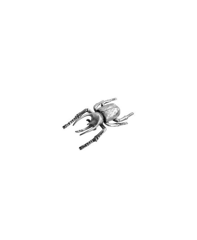 High Street Market Large Silver Beetle