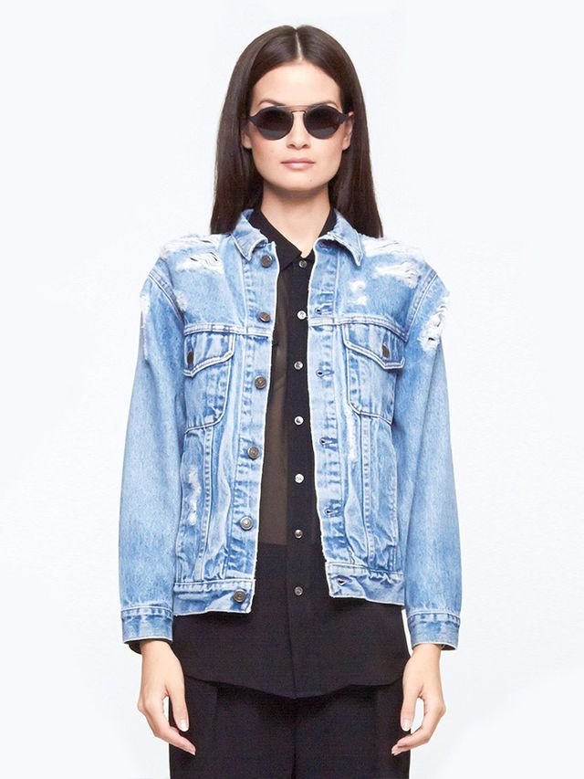 Levis Vintage Denim The Abrade Me Jacket
