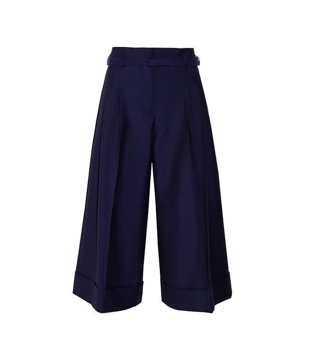 Acne Studios Habit Wool and Mohair-Blend Wide-Leg Pants
