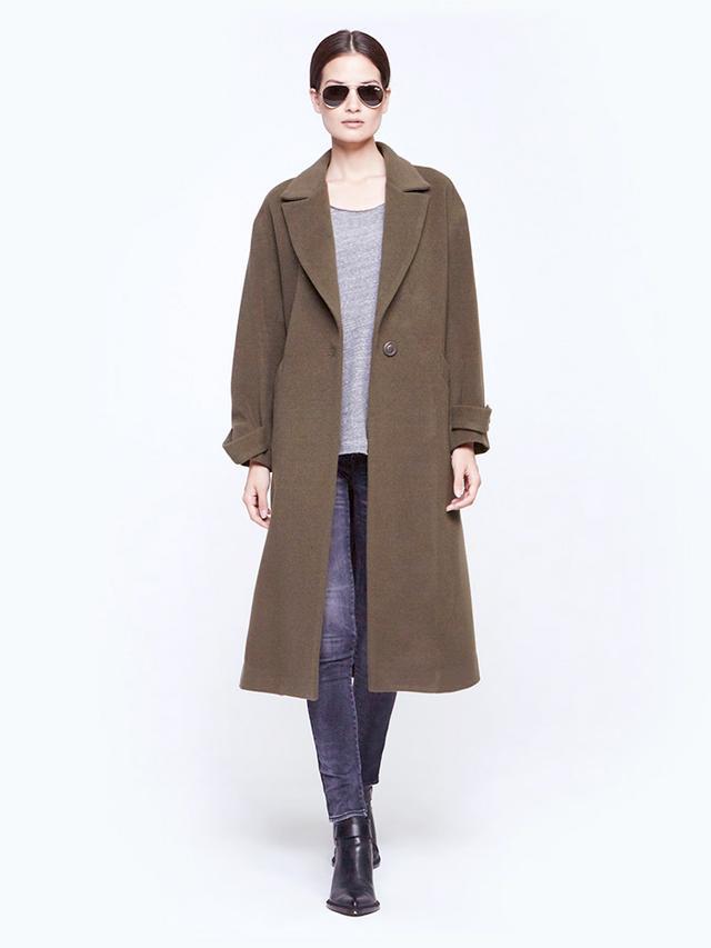 Mason by Michelle Mason Oversize Maxi Coat