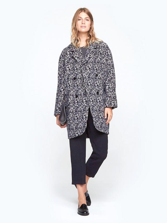 Carven Pattern Overcoat