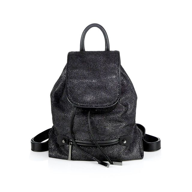 Halston Hertiage Faux-Stingray Backpack