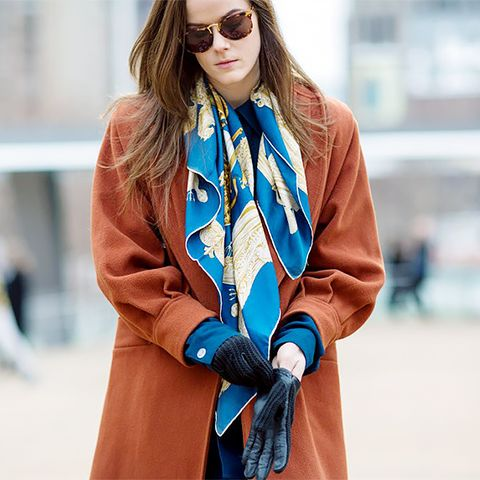 Scarf Street Style