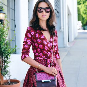How Do Dvf Dresses Run See Bloggers Take Diane von