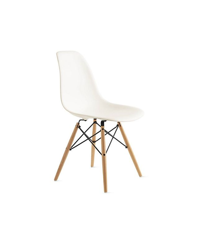 Design Within Reach Eames Molded Plastic Dowel Leg Side Chair