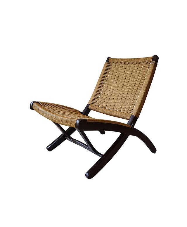 Chairish Pair of 1950s Danish Modern Folding Lounge Chairs