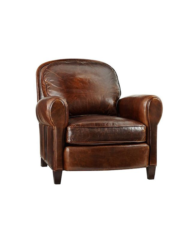Pottery Barn Rowling Leather Armchair