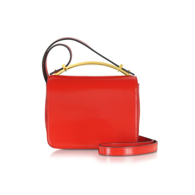 Marni Hot Red Sculpture Bag