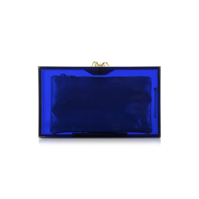 Charlotte Olympia Pandora Colour Clutch Box with Spider Clasp