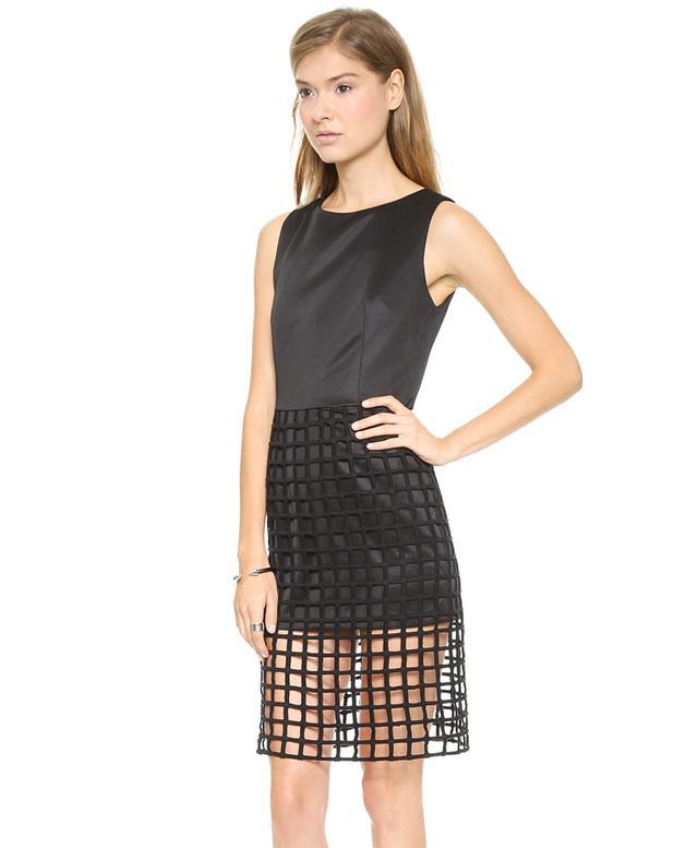 JOA Caged Detail Dress