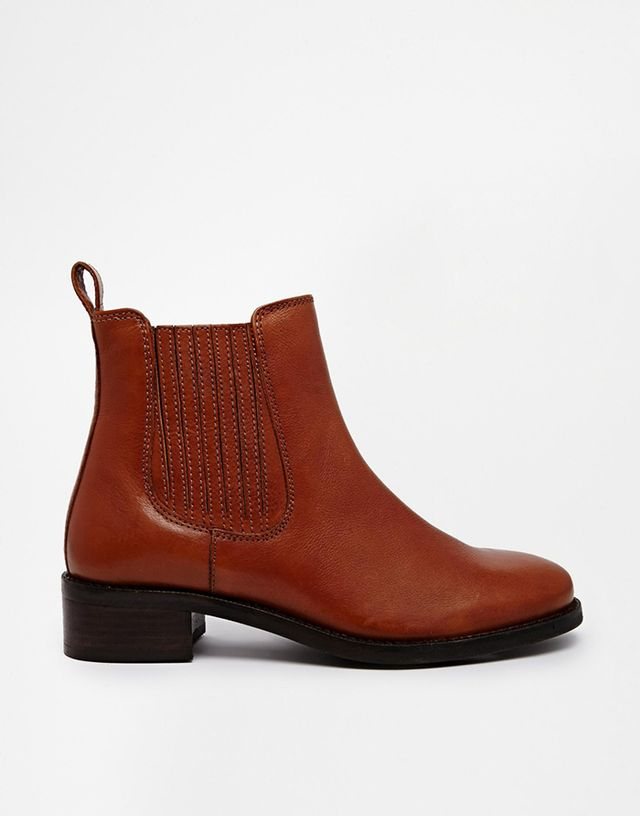 ASOS Atonement Leather Chelsea Ankle Boots