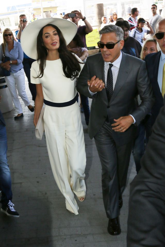 Amal Alamuddin's Wedding Gift to George Clooney Was...