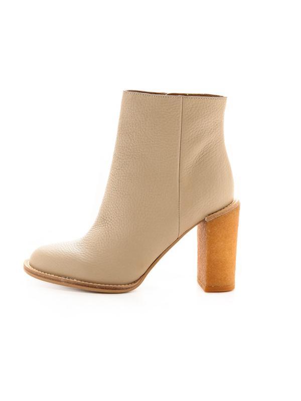 See by Chloé Crepe Heel Booties