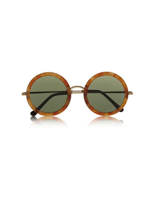 The Row Round Frame Sunglasses