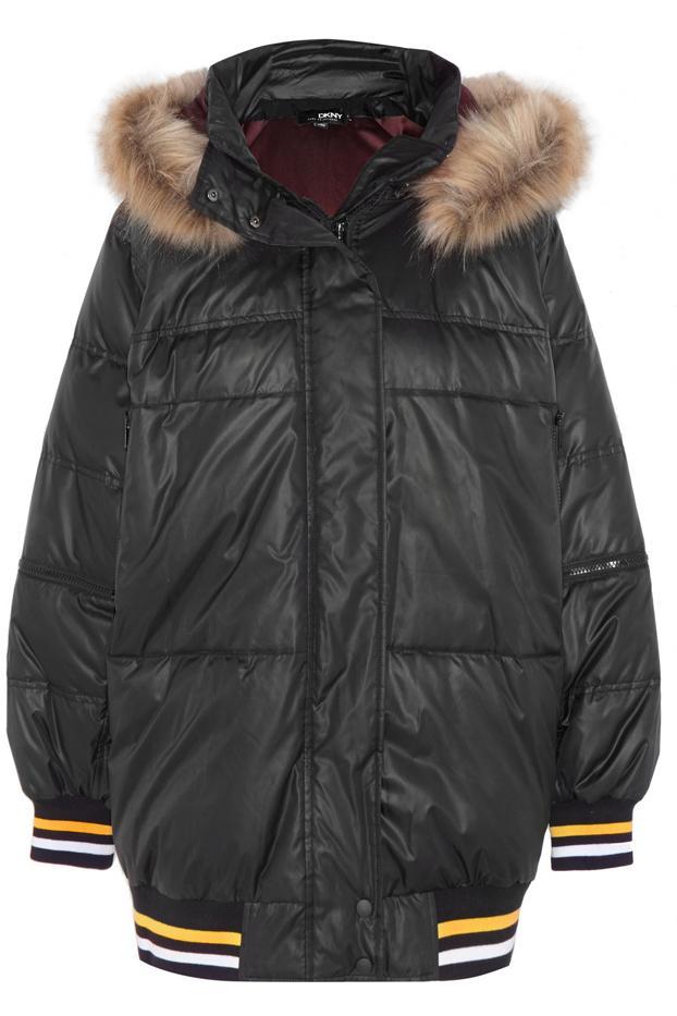 DKNY + Cara Delevingne Padded Shell Jacket