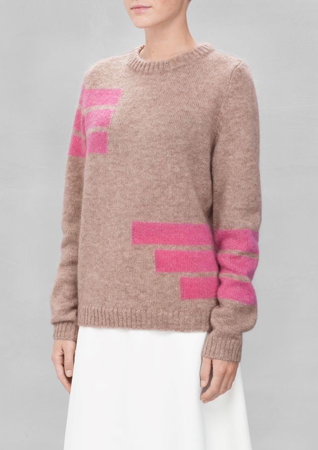 & Other Stories Fuzzy Sweater