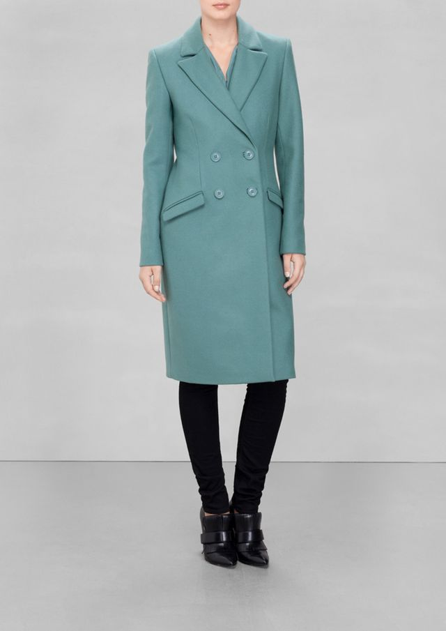 & Other Stories Waisted Coat