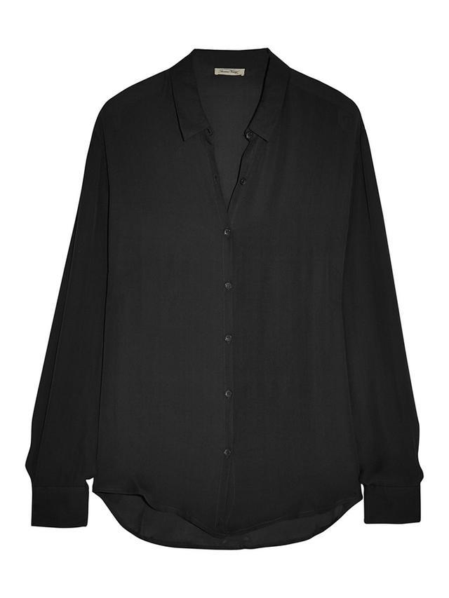 American Vintage Jamestown Silk-Georgette Shirt