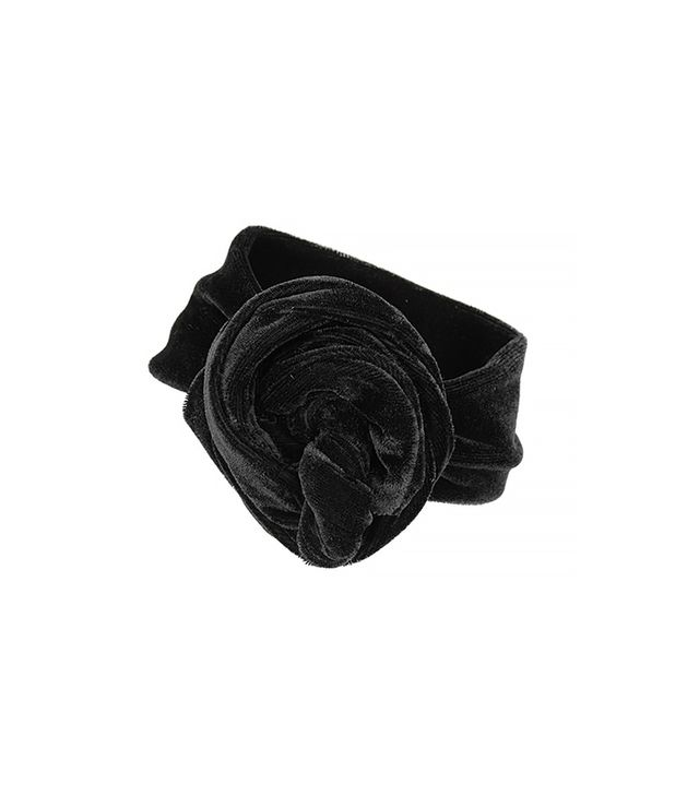 Topshop Velvet Hair Wrap