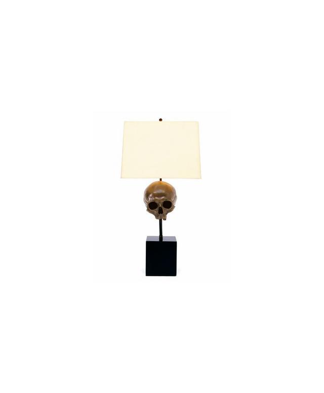Blackman Cruz Skull Table Lamp