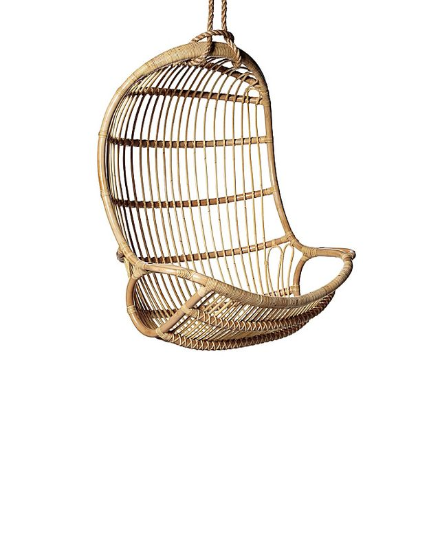 Serena & Lily Hanging Rattan Chair