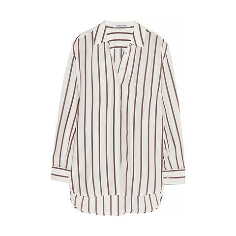 Sade Striped Silk Shirt