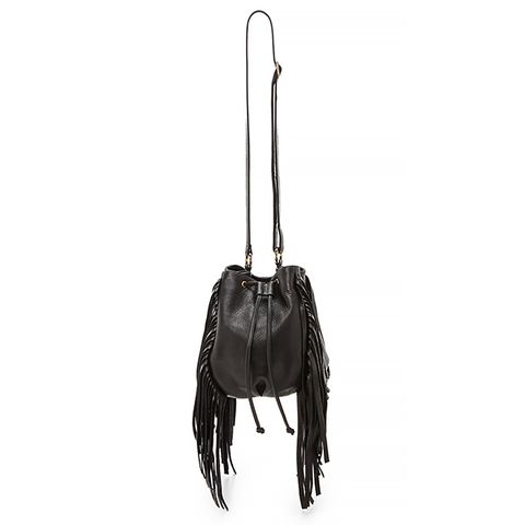 Lo Fringe Mini Bucket Bag