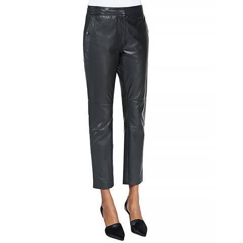 Sportswear Leather Trouser